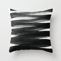 positive Throw Pillows featuring TX01 by Georgiana Paraschiv