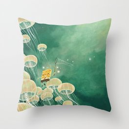 Best Day Ever (Spongebob Tribute) Throw Pillow