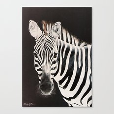 Taylor's Zebra   Painting Canvas Print