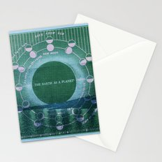 The Earth as a Planet Stationery Cards