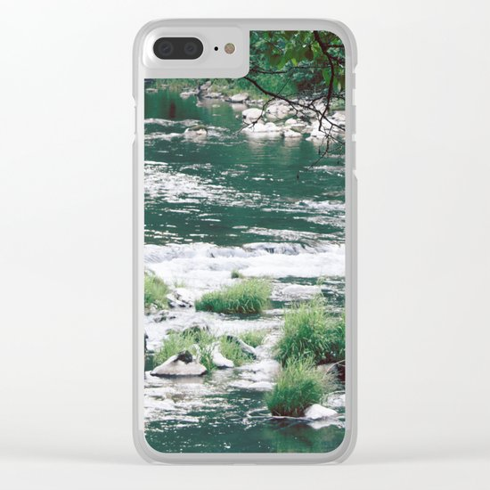 Morning Meditation Clear iPhone Case