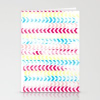 arrow Stationery Cards featuring Arrow by Louise Machado