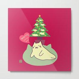 Merry Christmas 204 Metal Print