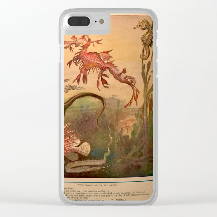 Nature  Juxtaposed Clear iPhone Case