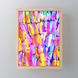 Party Fiesta Sugarcane Framed Mini Art Print