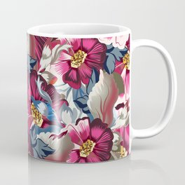 Beautiful victorian rose pattern in vintage style Coffee Mug