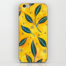 connected to nature iPhone Skin