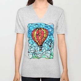 Festival in Flight Unisex V-Neck