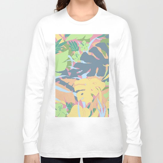 Jungle Flora 2 Long Sleeve T-shirt