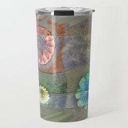 Fast Actuality Flower  ID:16165-084338-75791 Travel Mug
