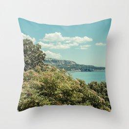 Sea Garden Throw Pillow