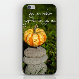 Just The Way You Are iPhone Skin