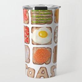 Breakfast Toast Travel Mug
