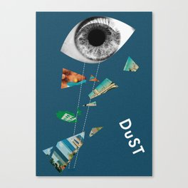Dust Canvas Print