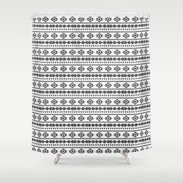 Aztech pattern Shower Curtain