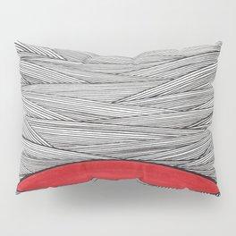 Red Half Pillow Sham