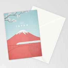 Vintage Japan Travel Poster Stationery Cards