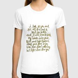 I Look At You / Lanterns T-shirt