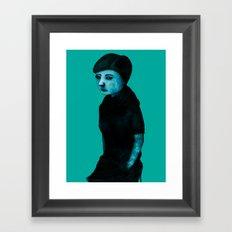 Night Girl IV Framed Art Print