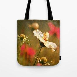 Flowers in the Rain Tote Bag