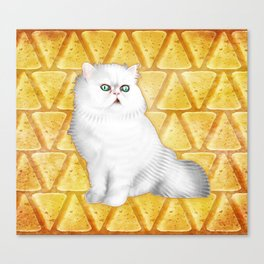 Manchego of Vhamster Canvas Print