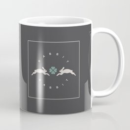 Rabbit Rabbit Clover Coffee Mug