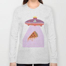 Pizza Alien Long Sleeve T-shirt