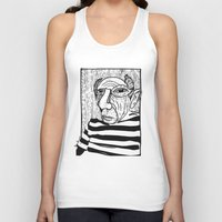 pablo picasso Tank Tops featuring Pablo Picasso by Benson Koo
