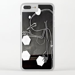 Hello Anxiety Clear iPhone Case