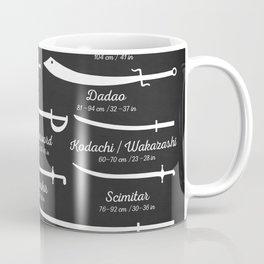 Sword Types Coffee Mug