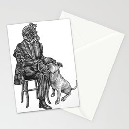 Cthulhu and His Dog Stationery Cards
