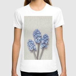 Light Blue Hyacinths T-shirt