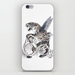 Wheat Tiger Chimera iPhone Skin