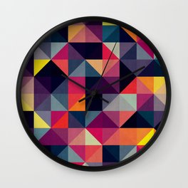 Contemporary art VII Wall Clock