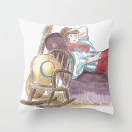 King Size Couch Potato  Throw Pillow