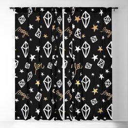BOHEMIAN BOHO PATTERN 3 Blackout Curtain