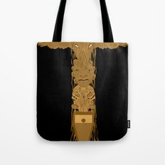 Doctor Who Totem Pole Tote Bag
