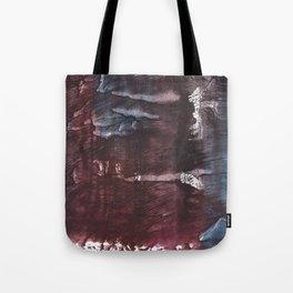 Brown Blue colored watercolor design Tote Bag