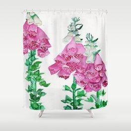 Feelin' Foxy Shower Curtain