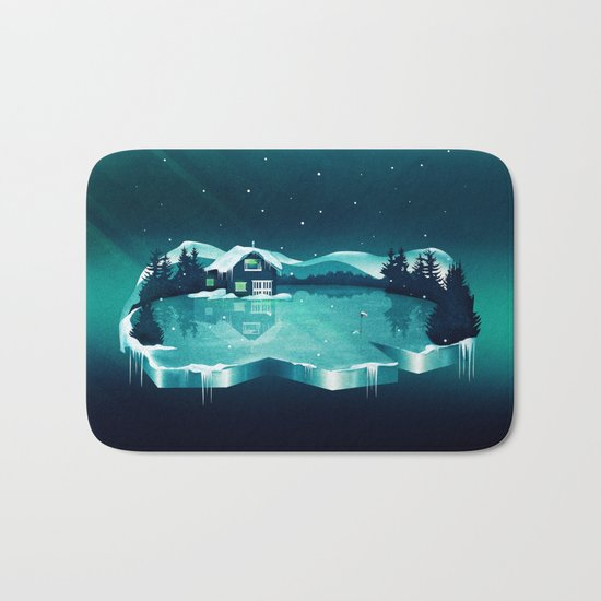 Frozen Magic Bath Mat