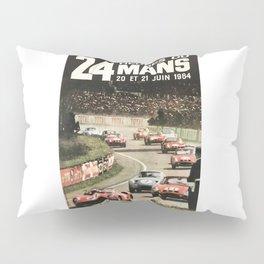 Le Mans 1964, Le Mans poster, Le Mans t shirt, Race poster, Pillow Sham