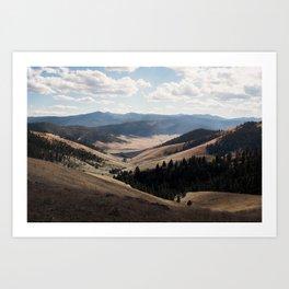 Great Rolling Plains of Montana Art Print