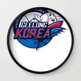 Geelong-Korea Wall Clock
