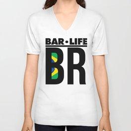 BR Bar•Life Unisex V-Neck