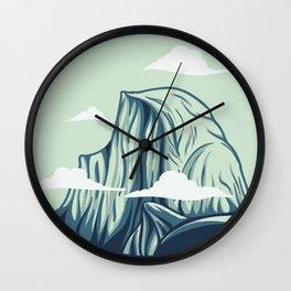 Half Dome Wall Clock