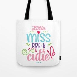 Little Miss Pre-K Cutie Tote Bag