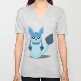 Evolution Bobbles - Glaceon Unisex V-Neck