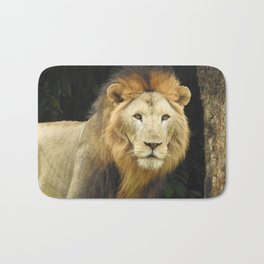 Lion the King of Beasts Bath Mat