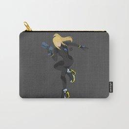 Zero Suit Samus(Smash)Black Carry-All Pouch