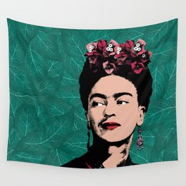 Floral Frida Wall Tapestry